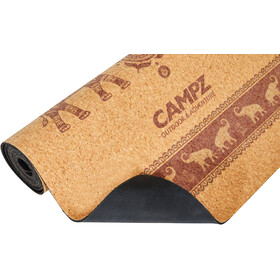 CAMPZ Cork Yoga Mat L Elephant brown